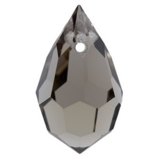 Pingente Drops Preciosa art. 45151681 Black Diamond 15x9mm