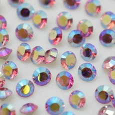 Strass Swarovski art. 1028 Rose Aurora Boreal SS 8,5D2,40mm
