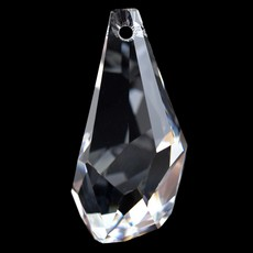 Pingente Drops Polygon Swarovski art. 6015 Cristal 50mm