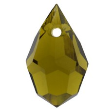 Pingente Drops art. 45151 LDI Olivine 10x6mm