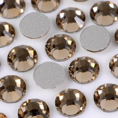 Strass Chaton Base Reta sem cola Preciosa art. 43811612 Viva 12 Light Colorado Topaz SS16  3,8mm