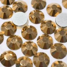 Strass Chaton Base Reta sem cola Preciosa art. 43811612 Viva 12 Cristal Aurum SS20  4,6mm