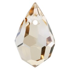 Pingente Drops Preciosa art. 45151681 Cristal Honey 10x6mm