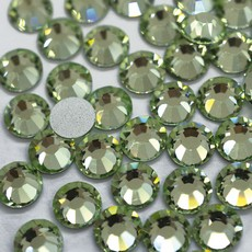 Strass Chaton Base Reta sem cola Preciosa art. 43811612 Viva 12 Chrysolite SS20  4,6mm