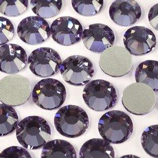 Strass Chaton Base Reta sem cola Preciosa art. 43811612 Viva 12 Tanzanite SS34  7mm