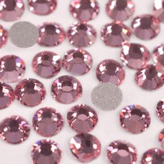 Strass Chaton Base Reta sem cola Preciosa art. 43811612 Viva 12 Light Rose SS12  3mm