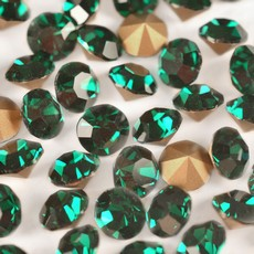 Strass Mc Chaton Preciosa art. 43111111 Emerald SS10  PP 21  2,7mm
