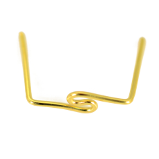Clips No art. 5001 LDI Dourado 15,5x13mm