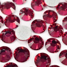 Strass Chaton Base Reta sem cola Preciosa art. 43811612 Viva 12 Ruby SS16  3,8mm