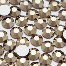 Strass Chaton Base Reta sem cola Preciosa art. 43811612 Viva 12 Cristal Starlight Gold SS20  4,6mm
