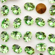 Strass Conico Collection Peridot SS 12  3,00mm