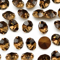 Strass Conico Collection Smoked Topaz SS 8,5  2,40mm