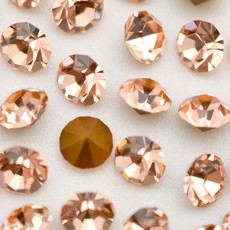 Strass Conico Collection Light Peach SS 10  2,70mm