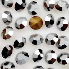 Strass Conico Collection Jet Hematite SS 4,5  1,60mm