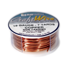 Fio Copper Craft Wire Cobre 18 gauge  1mm