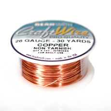 Fio Copper Craft Wire Cobre 26 gauge  0,40mm