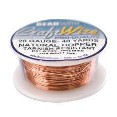 Fio Copper Craft Wire Cobre 28 gauge  0,32mm