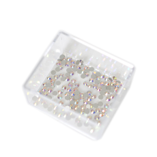 Strass Chaton Base Reta sem cola Preciosa art. 43811612 Viva 12 Cristal Aurora Boreal New SS 6  1,90mm