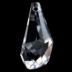 Pingente Drops Polygon Swarovski art. 6015 Cristal 21mm