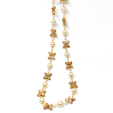 Colar Jasmine Collection Dourado 49cm Light Colorado Topaz