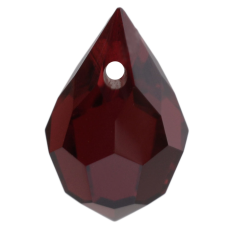 Pingente Drops art. 45151 LDI Garnet 10x6mm